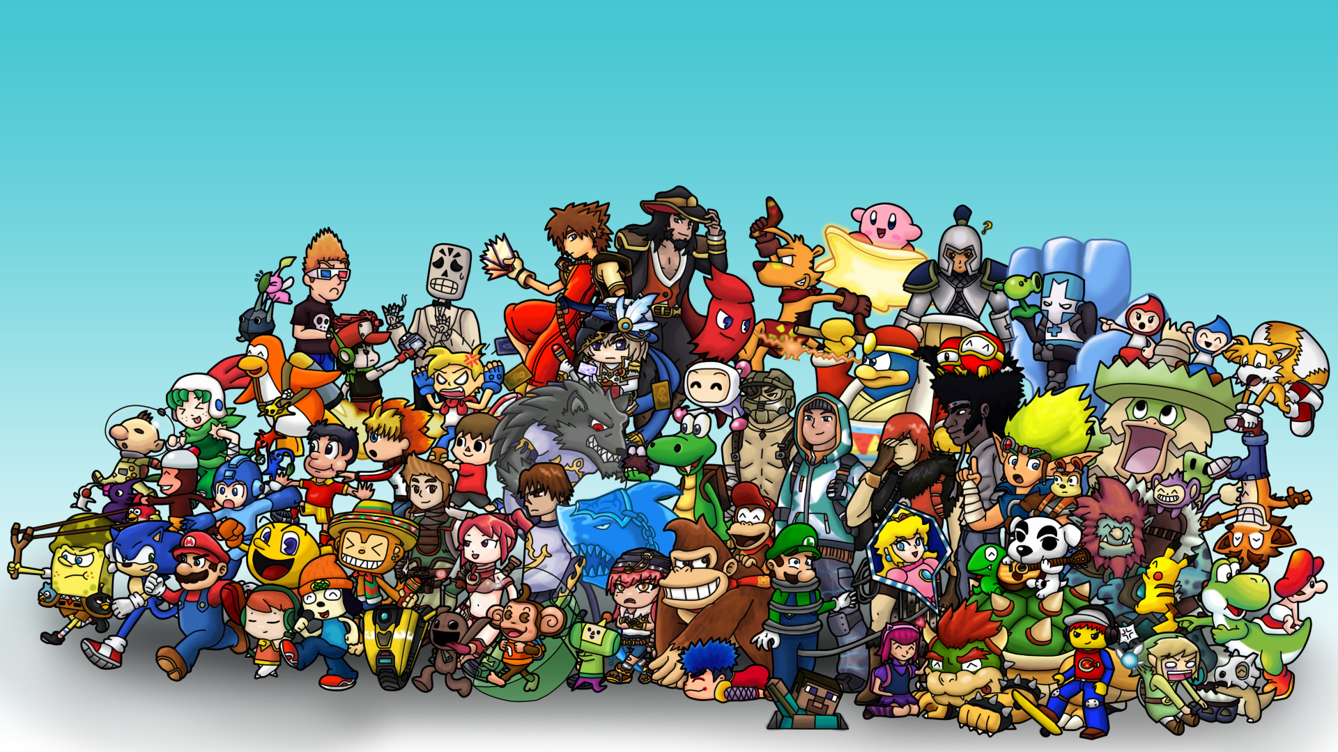 Group of Greatest Video Game Music 2 Wallpaper